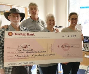 Cheque for $6500